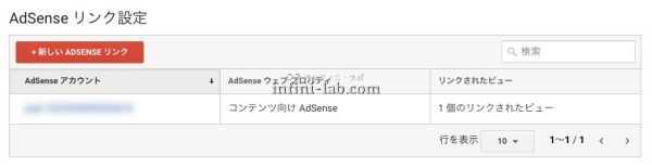 GoogleアドセンスとGoogleアナリティクスを連携する