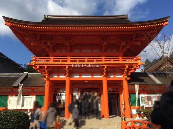 上賀茂神社に初詣 神馬様に会えました 2020年