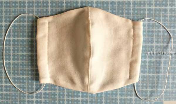 立体型マスクの作り方 完成