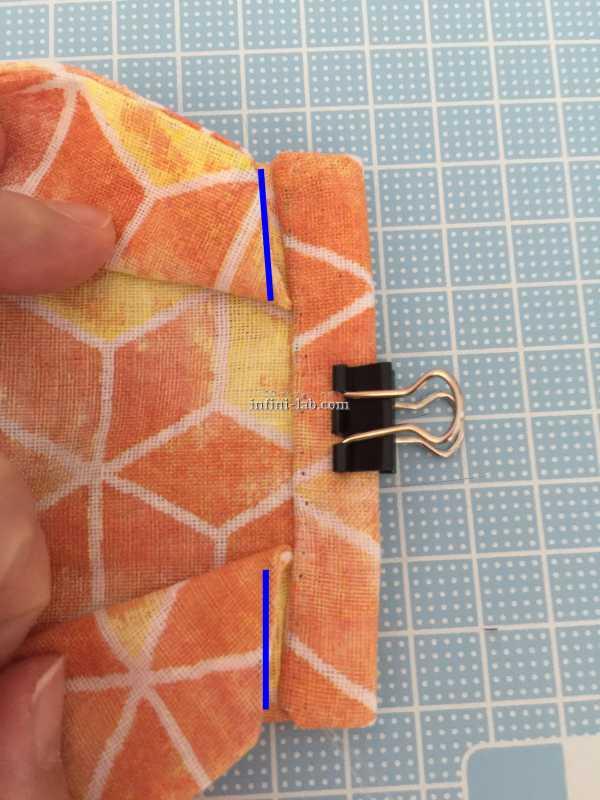 【簡単手縫い】ワイヤーいらずでフィットする立体型マスクを作ってみた